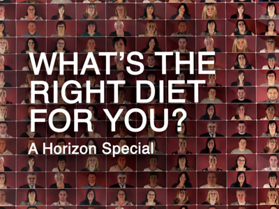What's The Right Diet For You: A Horizon Special